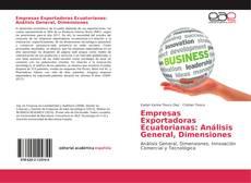 Buchcover von Empresas Exportadoras Ecuatorianas: Análisis General, Dimensiones