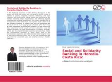 Capa do livro de Social and Solidarity Banking in Heredia-Costa Rica: