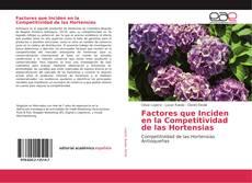 Portada del libro de Factores que Inciden en la Competitividad de las Hortensias