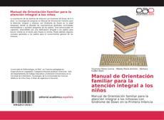 Buchcover von Manual de Orientación familiar para la atención integral a los niños