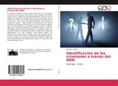 Copertina di Identificación de los criminales a través del ADN