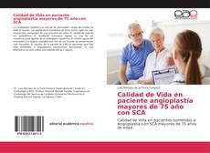 Portada del libro de Calidad de Vida en paciente angioplastía mayores de 75 año con SCA