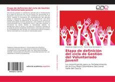 Buchcover von Etapa de definición del ciclo de Gestión del Voluntariado Juvenil