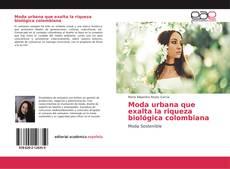 Portada del libro de Moda urbana que exalta la riqueza biológica colombiana