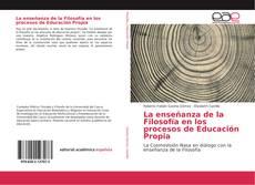 Buchcover von La enseñanza de la Filosofía en los procesos de Educación Propia