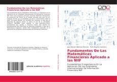 Portada del libro de Fundamentos De Las Matemáticas Financieras Aplicado a las NIIF