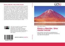 Etnia y Nación. Una visión inicial kitap kapağı