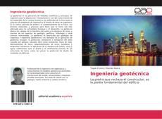 Buchcover von Ingeniería geotécnica