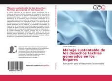 Portada del libro de Manejo sustentable de los desechos textiles generados en los hogares