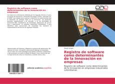 Обложка Registro de software como determinantes de la Innovación en empresas
