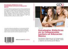 Buchcover von Estrategias Didácticas en la Comprensión Lectora en Educación Básica