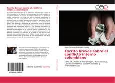 Portada del libro de Escrito breves sobre el conflicto interno colombiano