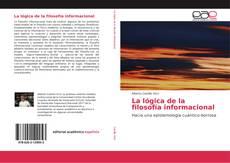 Capa do livro de La lógica de la filosofía informacional
