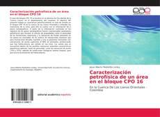 Capa do livro de Caracterización petrofísica de un área en el bloque CPO 16