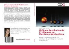 Portada del libro de IDEA en Resolución de Problemas en Mecánica Newtoniana
