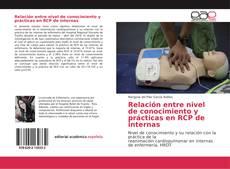 Buchcover von Relación entre nivel de conocimiento y prácticas en RCP de internas