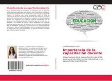 Bookcover of Importancia de la capacitación docente