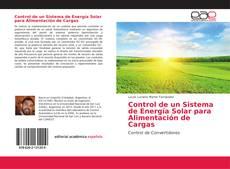 Capa do livro de Control de un Sistema de Energía Solar para Alimentación de Cargas
