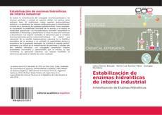 Обложка Estabilización de enzimas hidrolíticas de interés industrial