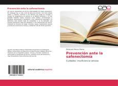 Couverture de Prevención ante la safenectomía