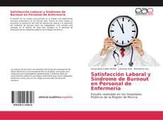 Copertina di Satisfacción Laboral y Síndrome de Burnout en Personal de Enfermería