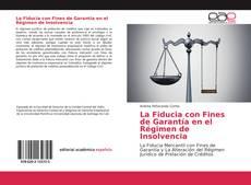 Copertina di La Fiducia con Fines de Garantía en el Régimen de Insolvencia