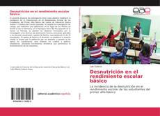 Buchcover von Desnutrición en el rendimiento escolar básico