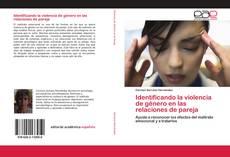 Portada del libro de Identificando la violencia de género en las relaciones de pareja