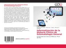 Portada del libro de Informatización de la Historia Clínica de Estomatología General
