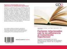 Portada del libro de Factores relacionados con la no adherencia al tratamiento hiportensor
