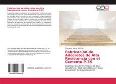 Capa do livro de Fabricación de Adocretos de Alta Resistencia con el Cemento P-35