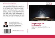 Couverture de Diccionario de pedagogía