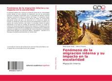 Portada del libro de Fenómeno de la migración interna y su impacto en la escolaridad