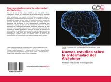 Portada del libro de Nuevos estudios sobre la enfermedad del Alzheimer