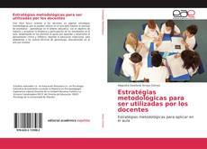 Portada del libro de Estratégias metodológicas para ser utilizadas por los docentes