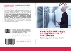 Portada del libro de Evaluación del riesgo de seguridad de la información