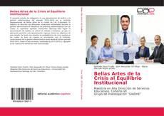 Capa do livro de Bellas Artes de la Crisis al Equilibrio Institucional