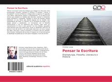 Bookcover of Pensar la Escritura