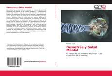 Portada del libro de Desastres y Salud Mental