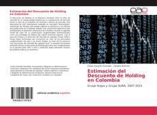 Bookcover of Estimación del Descuento de Holding en Colombia