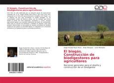 Capa do livro de El biogás. Construcción de biodigestores para agricultores