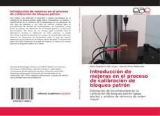Portada del libro de Introducción de mejoras en el proceso de calibración de bloques patrón