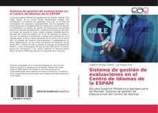 Bookcover of Sistema de gestión de evaluaciones en el Centro de Idiomas de la ESPAM