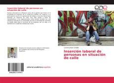 Portada del libro de Inserción laboral de personas en situación de calle
