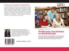 Portada del libro de Profesores Excelentes en Bachillerato