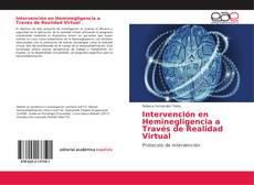 Portada del libro de Intervención en Heminegligencia a Través de Realidad Virtual