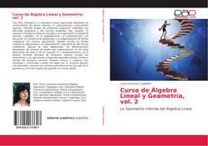 Bookcover of Curso de Álgebra Lineal y Geometría, vol. 2