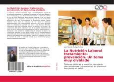 Portada del libro de La Nutrición Laboral tratamiento-prevención. Un tema muy olvidado