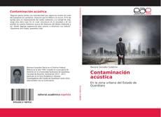 Bookcover of Contaminación acústica