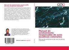 Copertina di Manual de avistamiento responsable de aves acuáticas coloniales